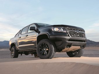 Chevrolet Colorado: Desert warrior