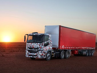 Fuso's heavy duty truck to break cover in Brisbane