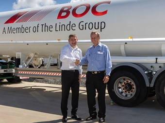 Nortrans and BOC hail a half century together