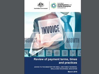 Carnell releases report on payment times and terms