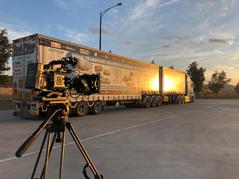 Road-sharing focus for truck safety video series