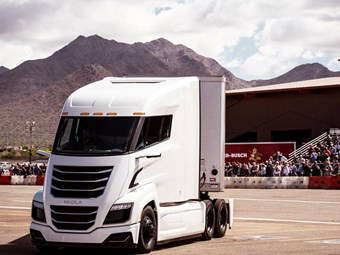 Nikola states its case at launch event
