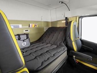 Volvo presenta una cabina de gran tamaño de tamaño XXL