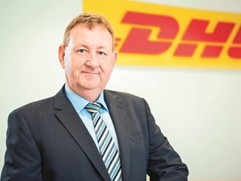 DHL Supply Chain: truck attractor