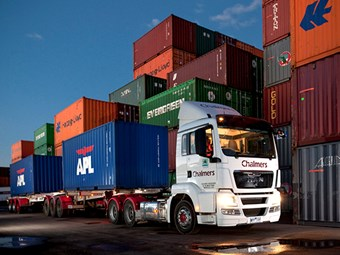 Qube to snap up port haulage firm Chalmers
