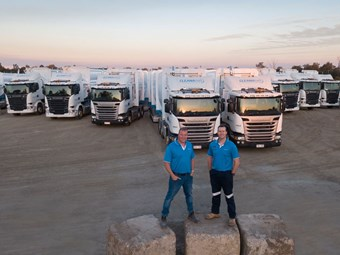 Clean bill of health for Cleanaway's Scania fleet