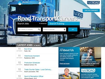 NatRoad unveils Road Transport Careers website