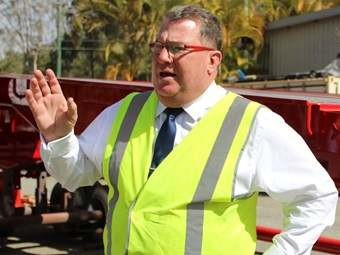 Livestock safety boost as unloading frame trial underway
