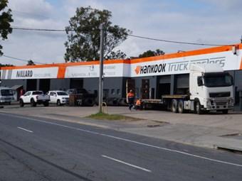 Hankook unveils first Australian Truck Masters store