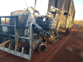 NT WorkSafe alert on heavy vehicle fire risks