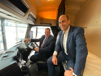 Buchholz gets to grips with TOTY 2020 Actros