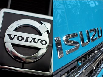 Volvo to transfer UD to Isuzu in strategic alliance