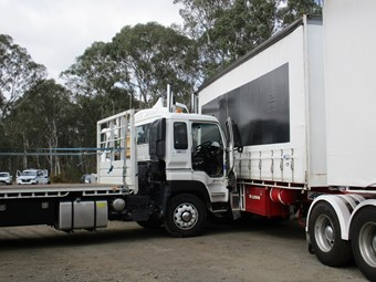 SafeWork NSW warns on truck roll-away incidents