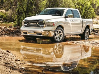 Ram 1500 Laramie: ramming speed