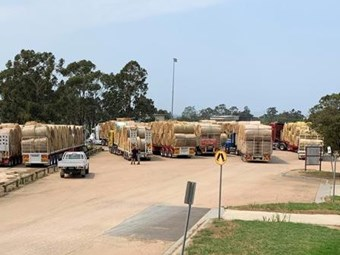 NHVR broadcasts fire relief trials and triumphs