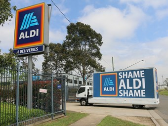 TWU and Aldi trade barbs over safety accusations