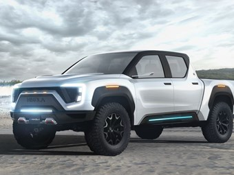 Nikola unveils its 675kW Badger pickup