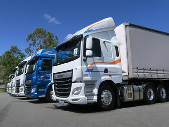 DAF gives Australia a taste of new XF, CF and LF