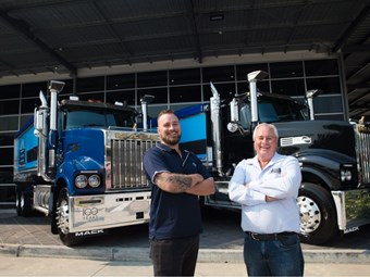 Baker in milestone Mack fleet expansion