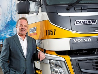 Cameron Group pushes for truck driver support