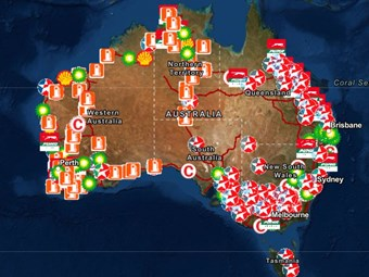 NHVR launches digital truckstop accessibility map