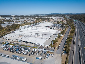 Volvo Group Wacol plant back in action