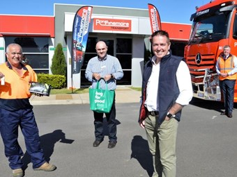 Finemore backs Woolworths driver care pack initiative