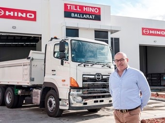 Hino and Till tout Ballarat expansion progress
