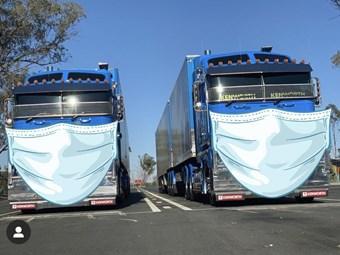 Truck driver vigilance call over Covid-19 spread