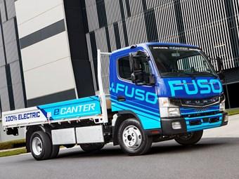 Daimler sets Australian Fuso eCanter release date