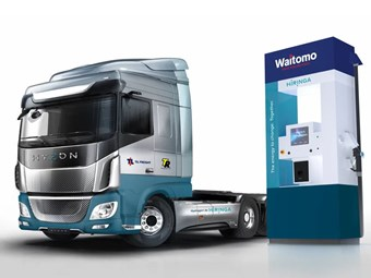 New Zealand firms sign up for fuel cell trucks network