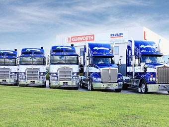 Truck sales easing but Kenworth surges back