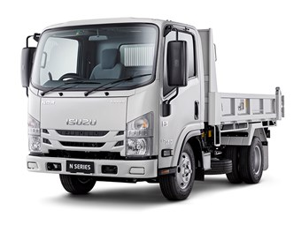 Number of Isuzu N series trucks in lights recall