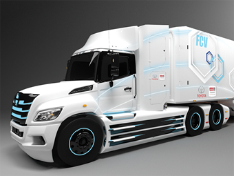 Toyota and Hino link for fuel cell electric prime movers