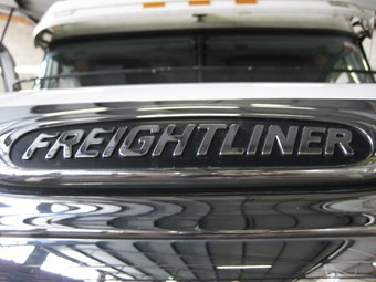 Older Freightliner recall for pressure fuel line replacements
