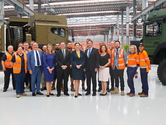 Rheinmetall Centre of Excellence sees official opening