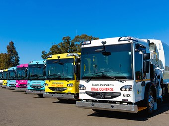 Charity awareness in Blacktown City Dennis Eagle order
