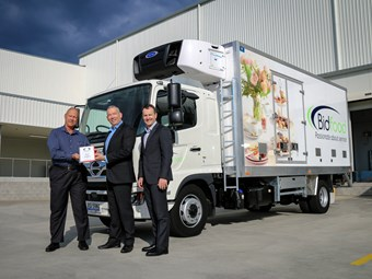 Bidfood gains Hino Australia's 125,000th local truck