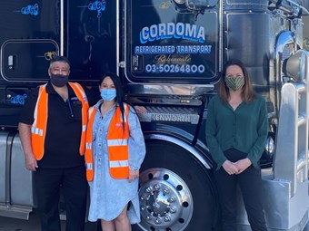 Regional backing for Vince Cordoma Transport expansion