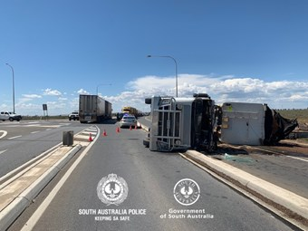 SA heavy vehicle enforcement busy on Augusta Highway