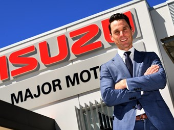 White becomes new Isuzu national dealer sales manager