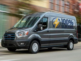Ford Transit van gains an electric version