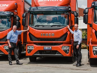 Simon National Carriers opts for Eurocargos