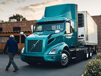 Volvo gives green light for US electric truck building