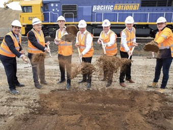 St Marys Freight Hub construction set in motion