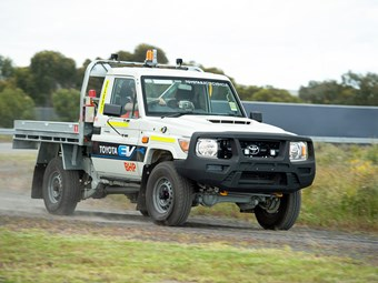 Toyota and BHP trial electric LandCruiser 70 Series