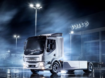 Volvo unveils its first electric truck in Australia