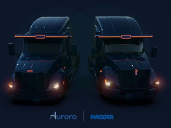 Paccar secures autonomous truck tech partner Aurora