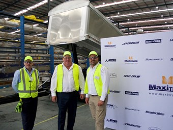 Politicians sing praises over MaxiTrans Queensland facility