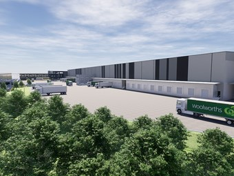 Primary Connect in huge Heathwood warehouse build